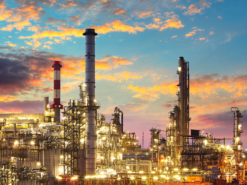 Petrochemical and Chemical plants